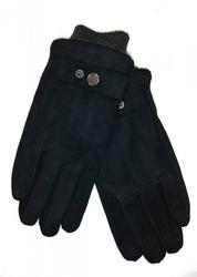 Rękawiczki męskie yo r-152 zamszowe