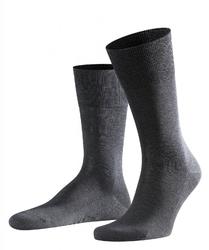 Eleganckie szare bawełniane skarpety falke tiago rozmiar 43-44