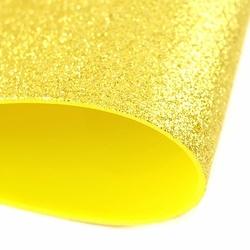 Brokatowa pianka 20x30 cm - złoty - ZŁO