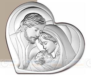 Obrazek BC64323 Święta Rodzina 15,5 x 14 cm.
