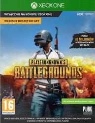 Gra Xbox One PlayerUnknowns Battlegrounds - szybka wysyłka mailem