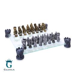 Smocze Szachy ze szklaną szachownicą MC-6059