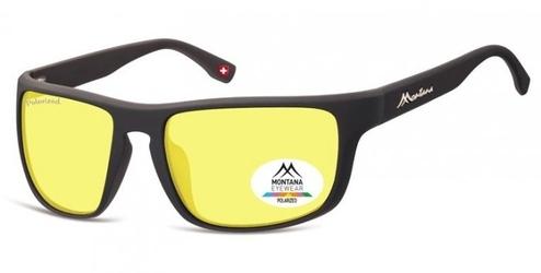 Rozjaśniające okulary do jazdy nocą dla kierowców z polaryzacją montana sp314f