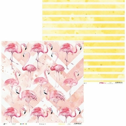 Papier Lets flamingle 30,5x30,5 cm - 01 - 01
