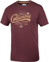 T-shirt męski columbia leathan trail em0729615