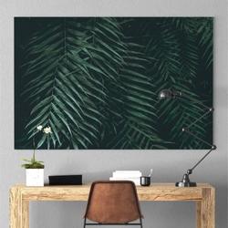 Obraz na płótnie - dark tropics , wymiary - 115cm x 170cm