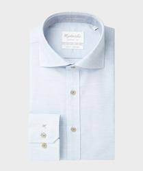 Elegancka błękitna koszula michaelis 37