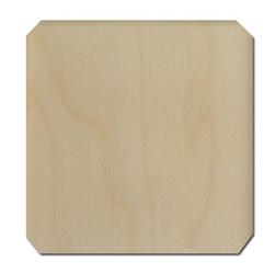 Drewniana podkładka pod kubek 9,2x9,2 cm