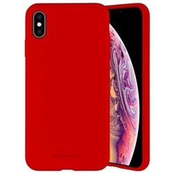 Mercury etui silicone iphone xxs czerwony