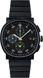 Zegarek męski tic15 stalowa bransoleta czarny chronograf