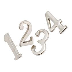 Cyfry metalowe do ozdoby świec no.1-4