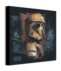 Star wars rogue one scarif trooper black - obraz na płótnie