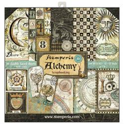 Zestaw papierów ozdobnych ALCHEMY 30,5x30,5 cm