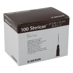 Sterican ins.einm.kan.26gx12 0,45x12 mm