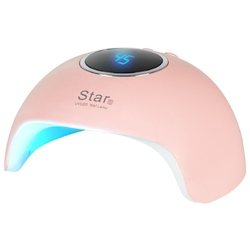 Lampa uv led star 6 24w pink