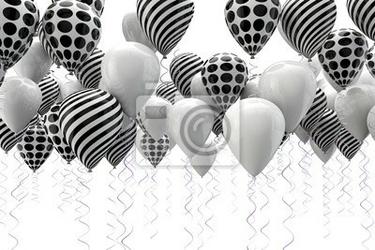 Fototapeta fondo abstracto con globos