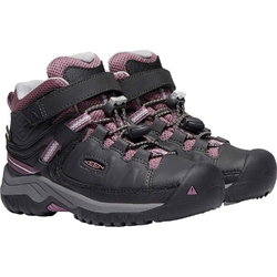 Buty trekkingowe dziecięce keen targhee mid wp - szary