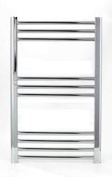Grzejnik łazienkowy eco york - wykończenie proste, 400x800, chromowany