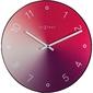Zegar ścienny gradient czerwony nextime 40 cm 8194 ro
