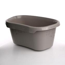 Wanienka  miska na pranie plastikowa łazienkowa tilda keeeper szara 30,5 l