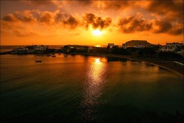 Zachód słońca – plakat wymiar do wyboru: 91,5x61 cm