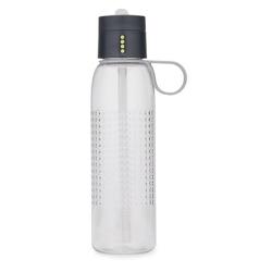 Joseph joseph - butelka na wodę dot active 750 ml, szara - szary