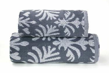 Ręcznik KELLY Frotex stalowy - stalowy