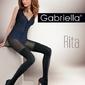 Gabriella 387 rita nero rajstopy