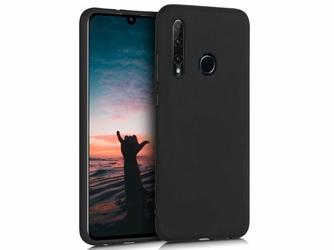 Etui silikonowe Alogy slim case do Huawei Honor 20 Lite czarne +Szkło 5d