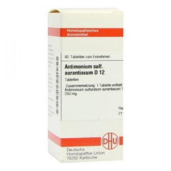 Antimonium sulf. aurant. d 12 tabl.