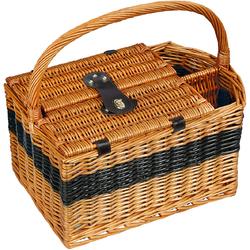 Kosz piknikowy dla 2 osób z komorą na butelki wina Cilio Cernobbio CI-156621