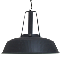 HK Living :: Lampa WORKSHOP XL Ø74cm - czarna - czarny