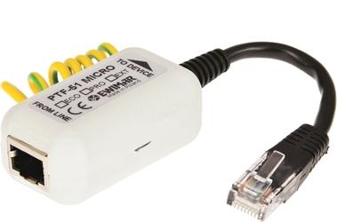 Miniaturowy ogranicznik przepięć do ochrony sieci lan, ewimar ptf-51-ecopoemicro - szybka dostawa lub możliwość odbioru w 39 miastach