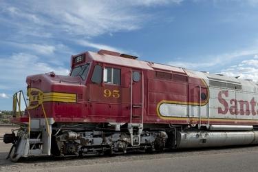 Fototapeta lokomotywa 960