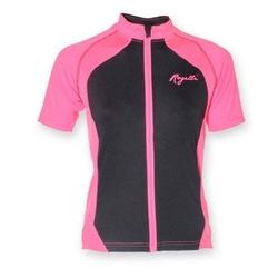 Koszulka rogelli bice różowo-czarna