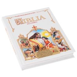 Biblia na chrzest komunie dla dzieci dedykacja - wliczony w cenę