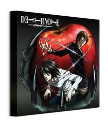 Death note apple - obraz na płótnie