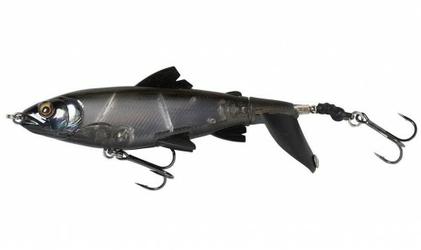 Wobler Sawage Gear Smash Tail Minnow 10cm 17g Black Ghost