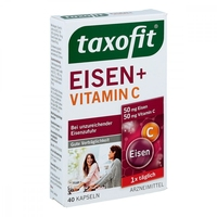 Taxofit żelazo + vitamin c kapsułki