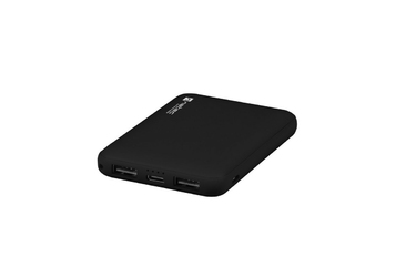 NATEC Power Bank Extreme Media 5000mAh Compact 2x USB + 1x USB-C czarny
