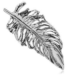 Srebrna broszka pr.925 Piórko