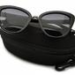 Kocie oczy czarne okulary damskie z polaryzacją std-25