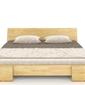 Łóżko drewniane sosnowe skandica vestre long