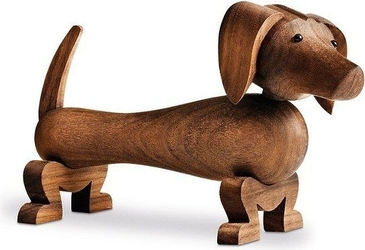 Dekoracja drewniana jamnik