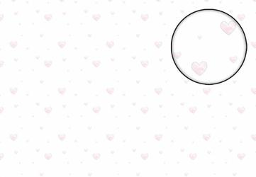 Różowe serduszka - fototapeta