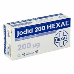 Jodid 200 Hexal Tabl.