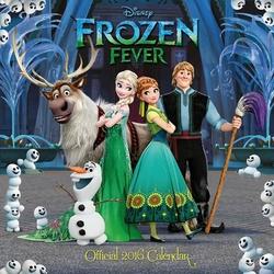 Disney Frozen Fever - kalendarz 2016 r.