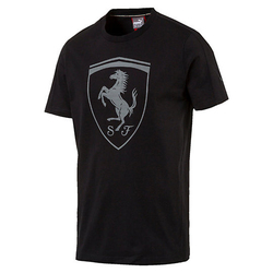 Koszulka Puma Ferrari Shield - 572805-01 - Czarny