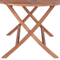 Stół ogrodowy rossi 120 cm drewniany