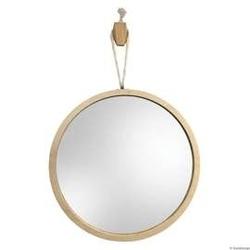Gieradesign :: lustro skandynawskie loop l okrągłe wiszące na sznurku śr. 50